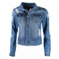 Blue Monkey - Jeansjacke - Butterfly