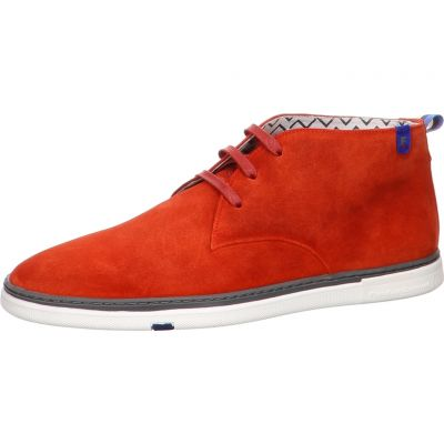 Floris van Bommel - Sneaker - Floris Casual Orange Suede