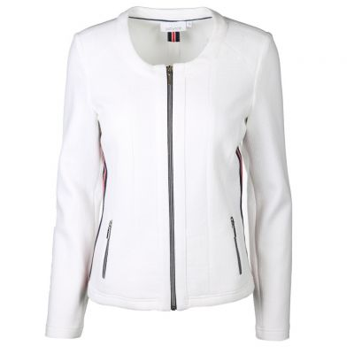 Just White - Sweatjacke