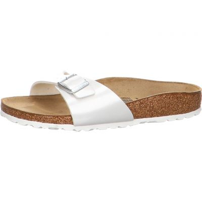 Birkenstock - Pantolette - Madrid BF Pearly White