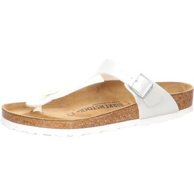 Birkenstock - Zehentrenner - Gizeh BF Pearly White