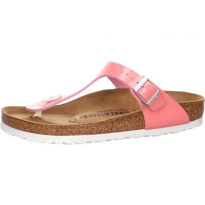 Birkenstock - Zehentrenner - Gizeh BF Patent Strawberry Ice