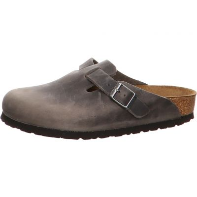 Birkenstock - Hausschuh - Boston SFB FL Iron