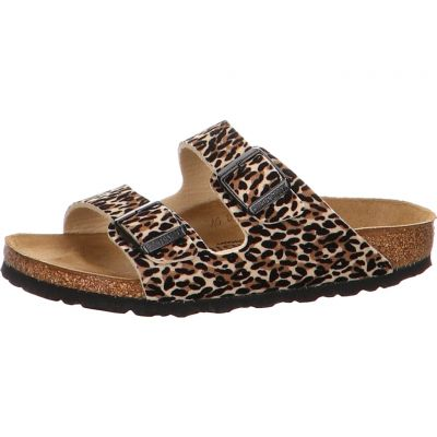 Birkenstock - Pantolette - Arizona TEX Leo Lilly Brown Be