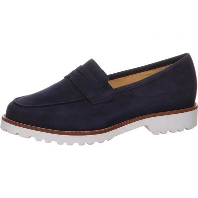 Sioux - Pennyloafer aus Lammvelours - Meredith-709-H