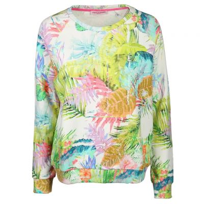 Frieda & Freddies - Sweater mit Tropen Prints