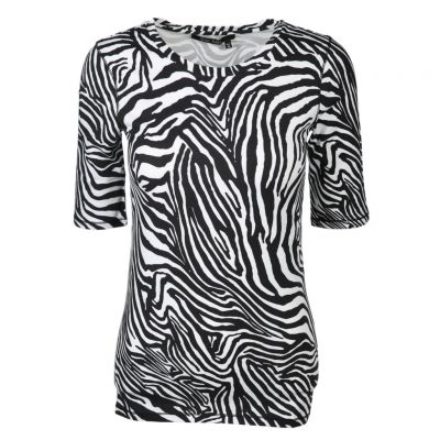 Marc Aurel - Shirt mit Allover Zebra-Print