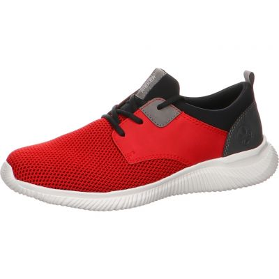 Rieker - Low Sneaker in Rot