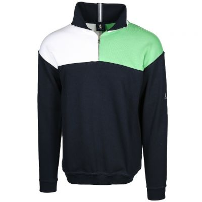 wind sportswear - Dreifarbiger Sweat Troyer