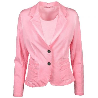 iSilk - Blazer in Flamingo