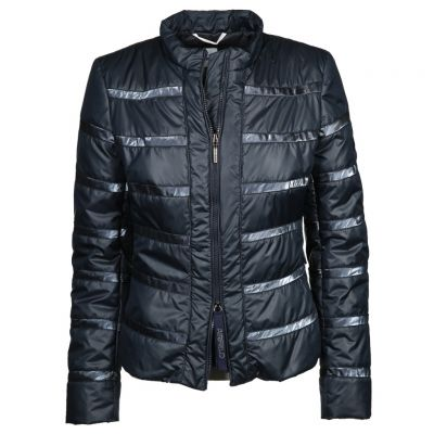 Airfield - Dunkelblaue Steppjacke - Today Jacket