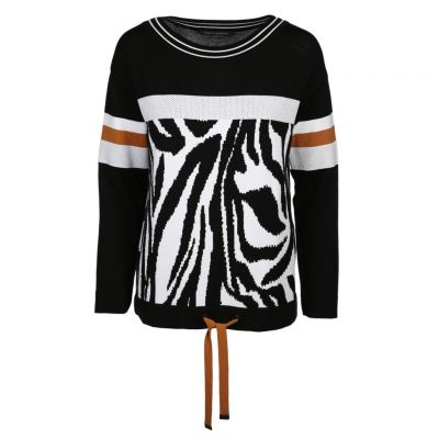 Faber - Pullover mit Zebra Muster