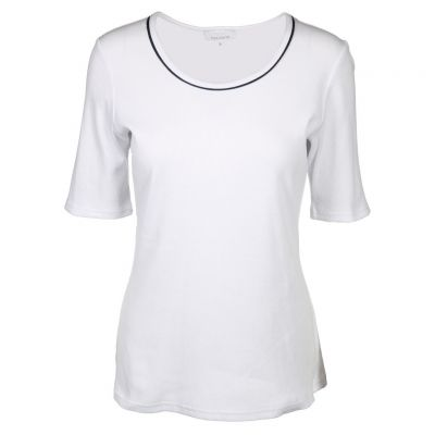 Just White - Shirt in Weiß