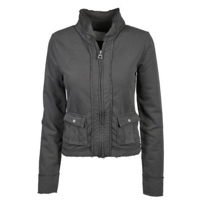 Better Rich - Sweatjacke mit gefransten Kanten - Jacket Coco