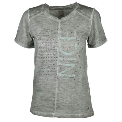 soquesto - Shirt in Washed Out Optik
