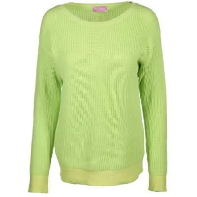 six-o-seven - Pullover in Neonfarbe