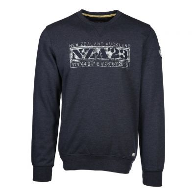 New Zealand Auckland - Sweatshirt mit Frontprint - Mandamus