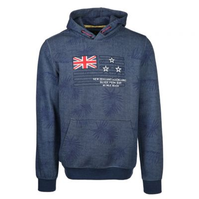 New Zealand Auckland - Hoodie mit Allover-Print - Paradise