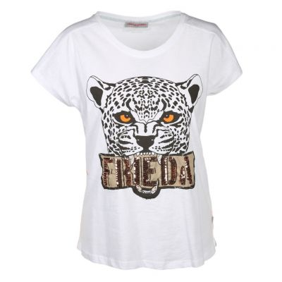 Frieda & Freddies - Shirt mit Leoprint