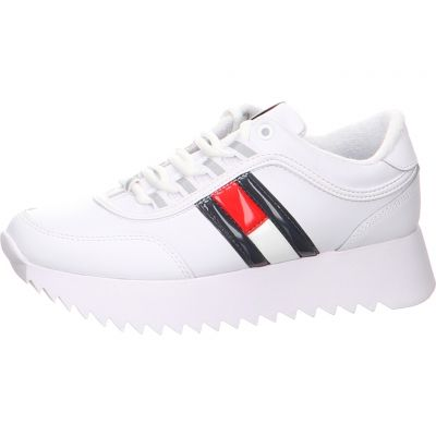 Tommy Hilfiger - Plateau Sneaker - High Cleated Flag