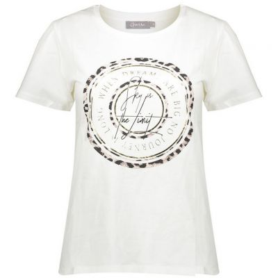 Geisha - Shirt mit Message Print