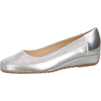 Bagnoli - Keilpumps im Metallic Look