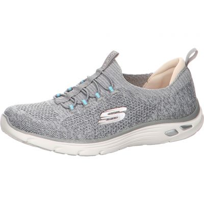 Skechers - Melierter Slip-On Sneaker