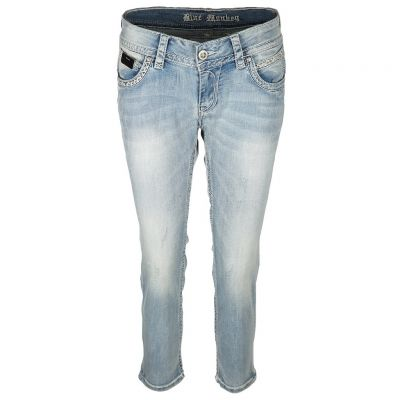 Blue Monkey - Jeans mit Ziernähten - Stacy
