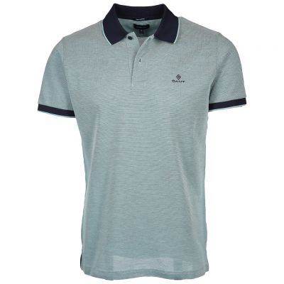 Gant - Poloshirt in melierter Optik