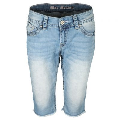 Blue Monkey - Shorts mit Fransen - Melody