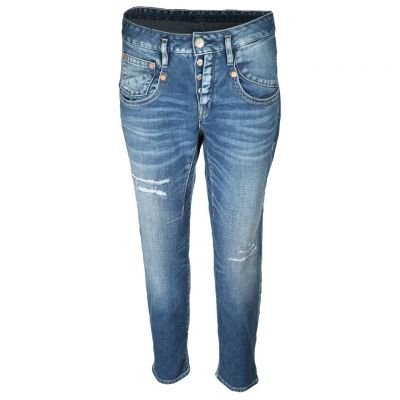 Herrlicher - Jeans in Destroyed Look - Shyra Cropped