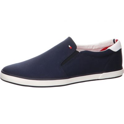 Tommy Hilfiger - Slip On Sneaker aus Canvas - FM0FM00597