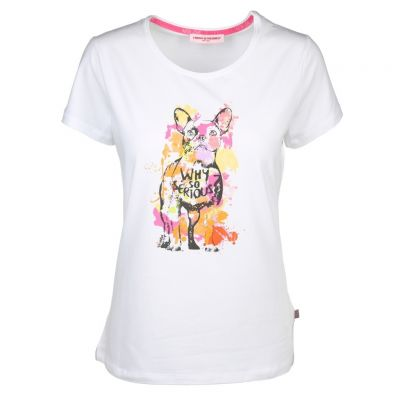 Frieda & Freddies - Shirt mit buntem Print