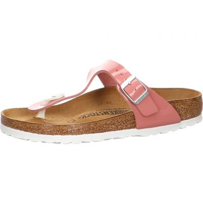Birkenstock - Zehentrenner in Lack Optik