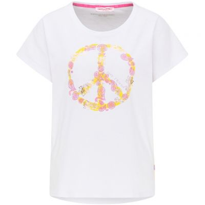 Frieda & Freddies - Shirt mit Peace-Print