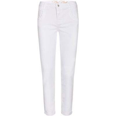 Mos Mosh - Jeans mit Stickerei - Naomi Novel White