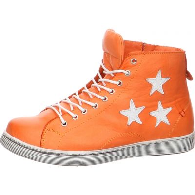 Andrea Conti - Sneaker in Orange