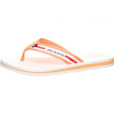 Tommy Hilfiger - Zehentrenner in Melon Orange