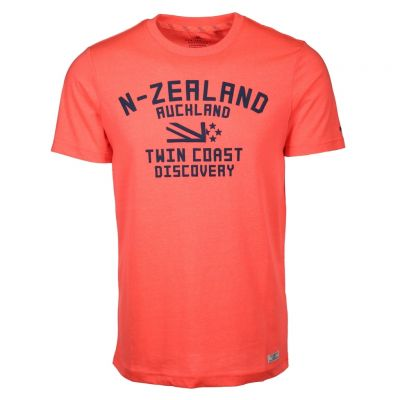 New Zealand Auckland - Shirt mit Neonprint - Tautanga