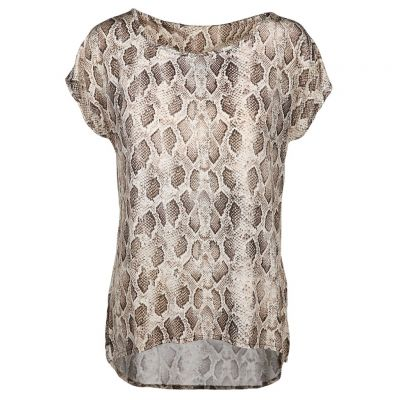 Jane Lushka - Shirt mit Animalprint