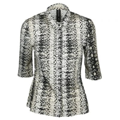 Jane Lushka - Bluse mit Animalprint