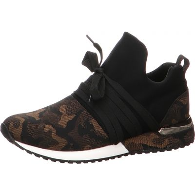 La Strada - Sneaker in Camouflage Optik