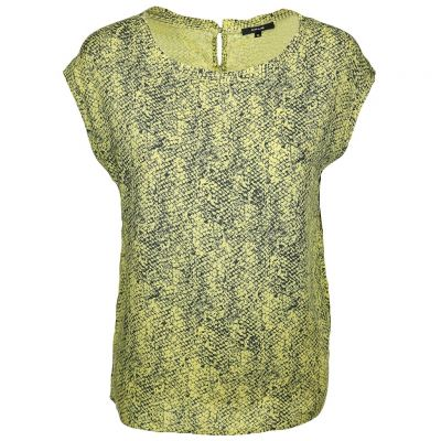 Opus - Bluse mit Reptilien Print - Faune