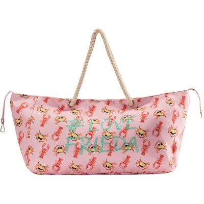 Frieda & Freddies - Strandtasche mit Allover-Print