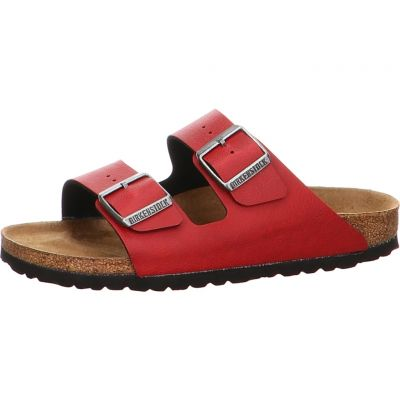 Birkenstock - Pantolette in Rot - Arizona BF Pull Up Bordeaux VE