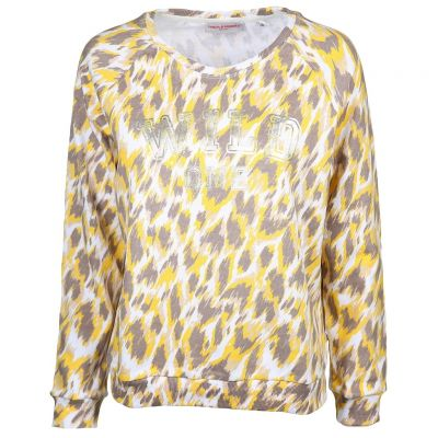 Frieda & Freddies - Sweatshirt im Leo Look