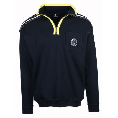 wind sportswear - Sweat Troyer mit Akzenten