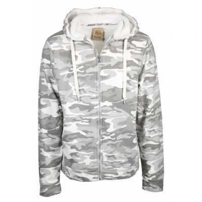 Better Rich - Sweatjacke mit Camouflage Muster