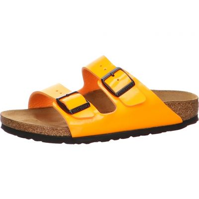 Birkenstock - Pantolette in Lack Optik