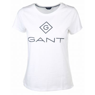 Gant - Shirt mit Labelprint